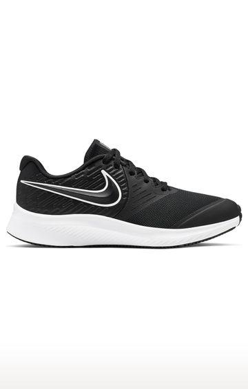 Nike | Black Unisex Star Runner 2 Running Shoes