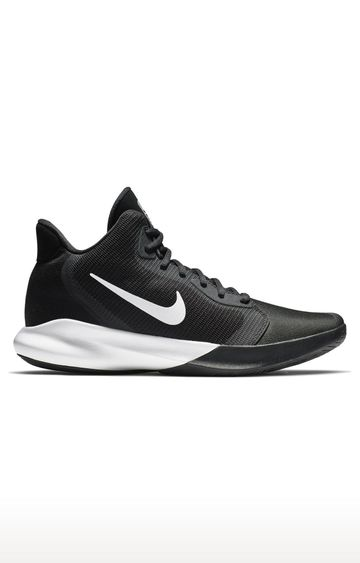 Nike | Black Unisex Precision Iii Sports Shoes
