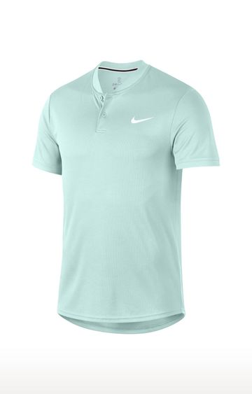 Nike | Sky Blue Solid T-Shirt