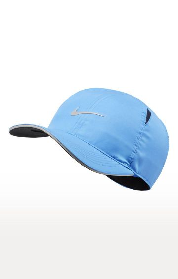 Nike | Blue Solid Featherlight Cap