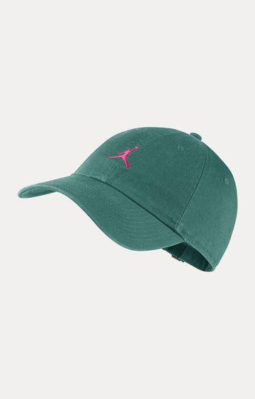 Nike   Green Solid Baseball Cap