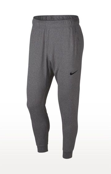 Nike | Grey Melange Dri-Fit Trackpants