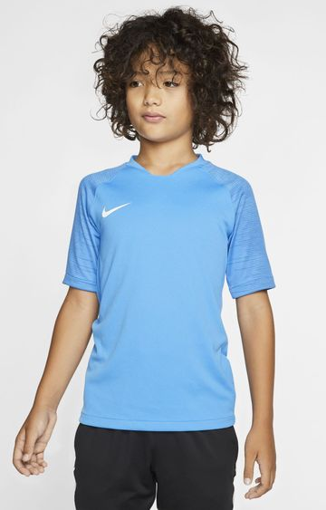 Nike | Blue Solid Breathe Strike T-Shirt