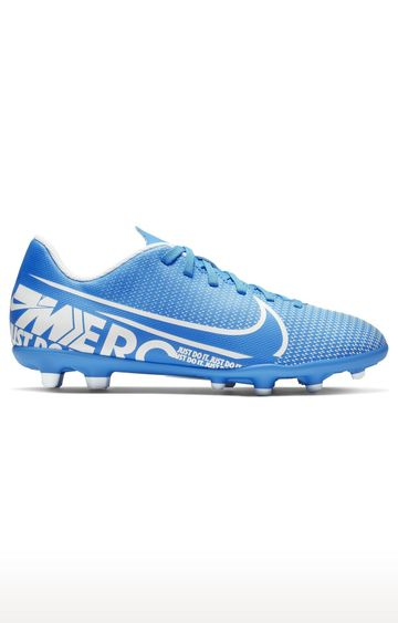 Nike | Blue Unisex Jr. Mercurial Vapor 13 Club MG Outdoor Sports Shoes