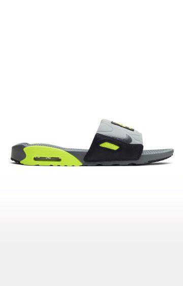 Nike | Grey Air Max 90 Slippers