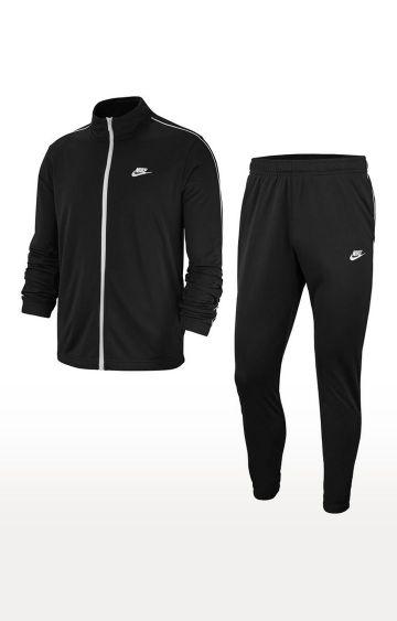Nike | Black Solid Tracksuit