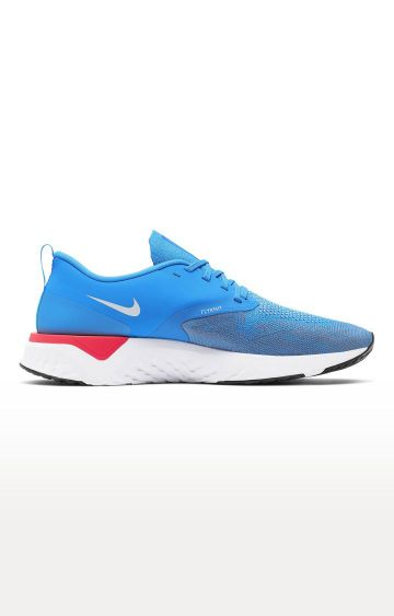 Nike | Blue Odyssey React Flyknit 2 Running Shoes