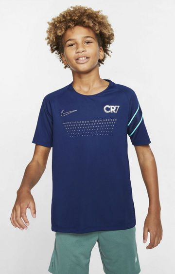 Nike | Blue Printed Dri-Fit Cr7 T-Shirt