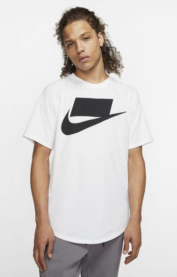 Nike | White Printed T-Shirt