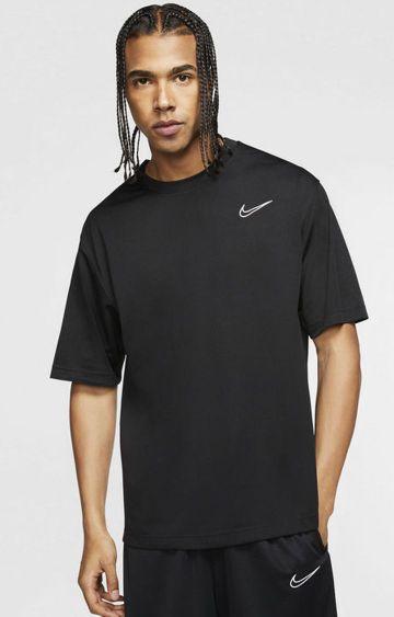 Nike | Black Solid Dri-Fit Classic T-Shirt