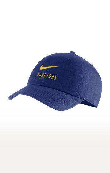 Nike | Blue Golden State Warriors Heritage 86 Baseball Cap