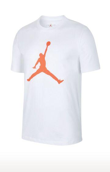 Nike | White Jordan Jumpman Printed T-Shirt