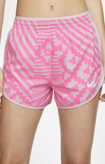 Nike | Pink Printed Tempo Lux Shorts