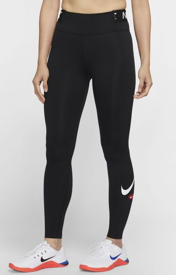 Nike | Black One Solid Tights