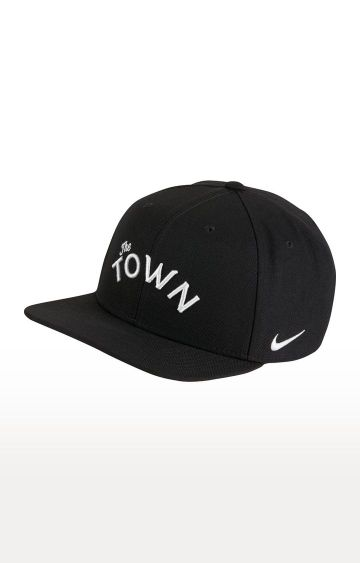 Nike | Black Solid Warriors City Edition Cap