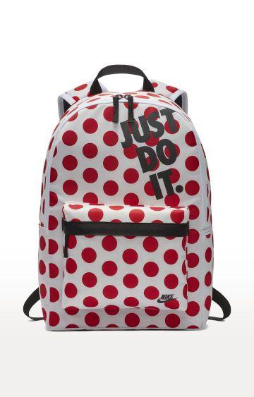 Nike | White Heritage Backpack