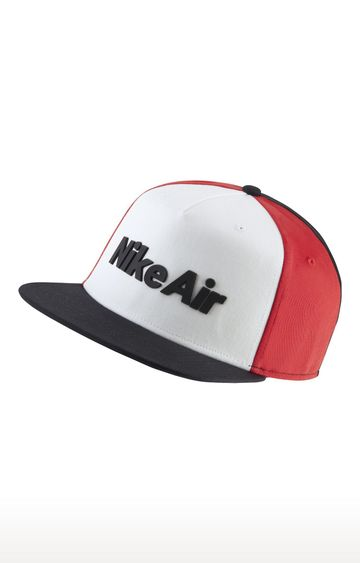 Nike | White and Red Air Pro Capsule Colourblock Baseball Cap