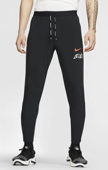Nike | Black Phenom Solid Trackpants