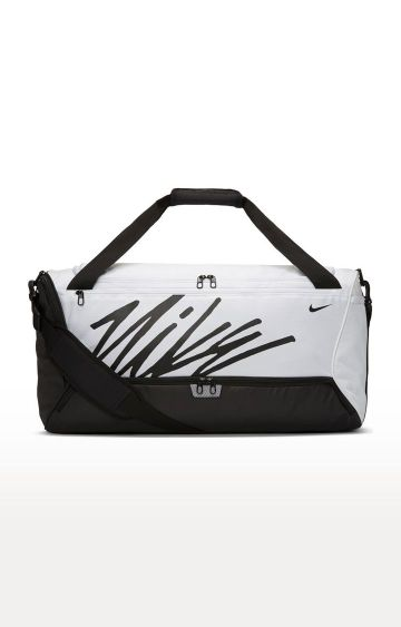 Nike | White Brasilia Duffel Bag