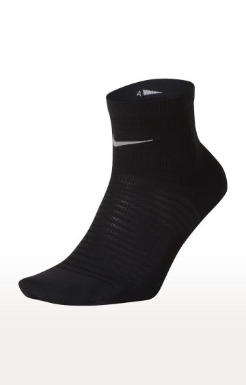 Nike | Black Spark Lightweight One Quarter Sock