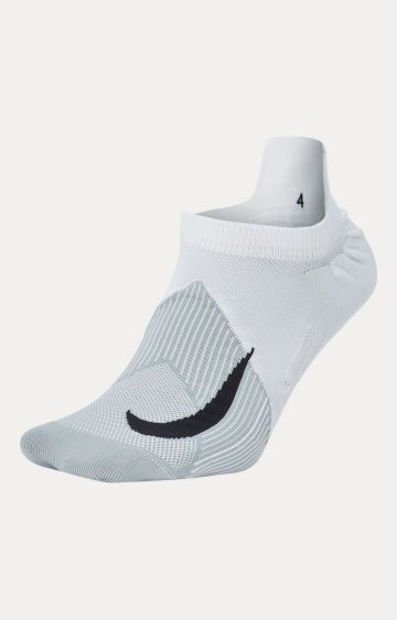 Nike | White Nike Elite Lightweight No-Show Running Socks