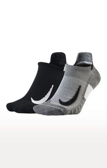 Nike | Multicoloured Colourblock Multiplier Socks - Pack of 2