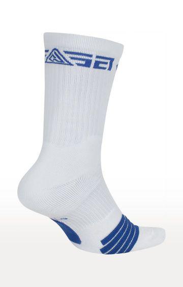 Nike | White Printed Elite Giannis Socks
