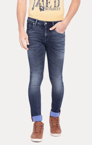 Killer | Blue Solid Straight Jeans