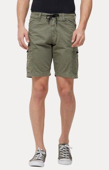 Killer | Olive Solid Shorts