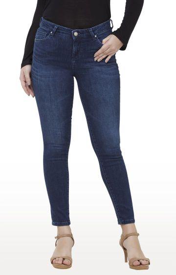 Killer | Blue Solid Skinny Fit Jeans