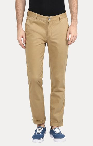 Turtle | Khaki Straight Chinos