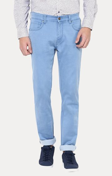 Turtle | Light Blue Straight Jeans