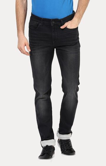 Turtle | Black Straight Jeans