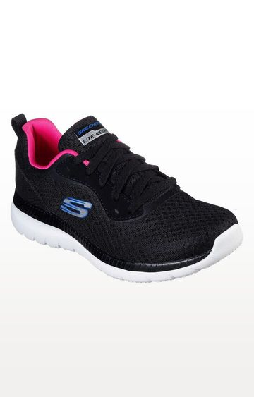 Skechers | Skechers Black Bountiful Sports Shoes