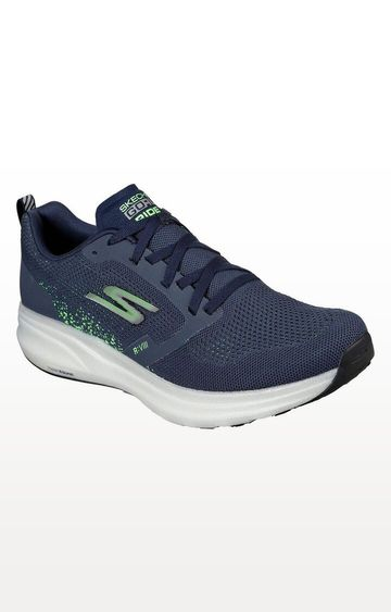 Skechers | Skechers Navy Go Run Ride 8 Trainers