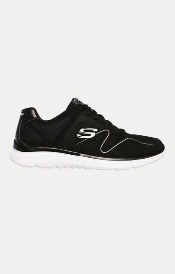 Skechers | Black Sports Shoes