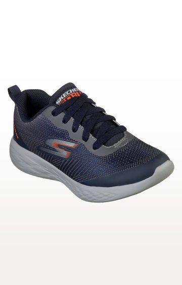 Skechers | Navy Go Run 600 - Haddox Running Shoes