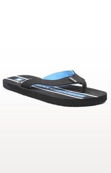 Lotto | Lotto Black and Blue Sconto Flip Flops