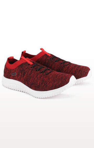 Lotto | Lotto Red and Black Amanda Trainers