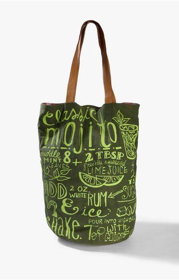 GAS | Women's typographic Liddy bag