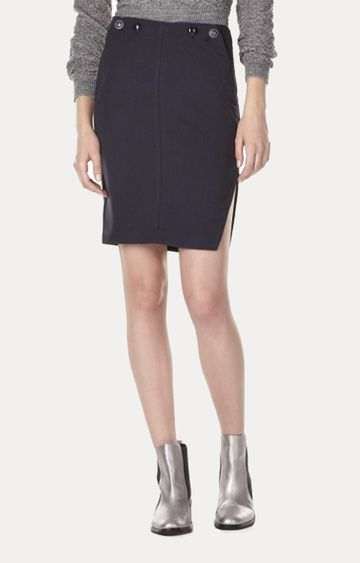 GAS | Women's slim fit mid rise Caryes skirt with slit