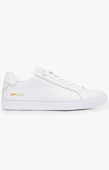 GAS | White DNA Sneakers