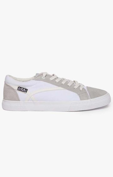 GAS | White California Low CVS Sneakers