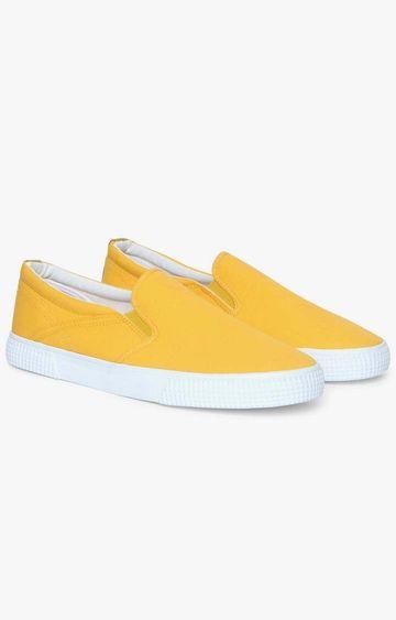 GAS | Yellow Santamonica Sneakers