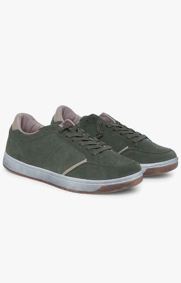 GAS | Military Green Ronny SD Sneakers