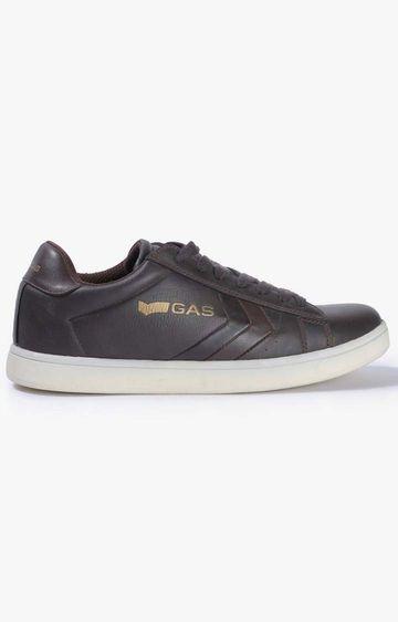 GAS | Dark Brown Johnny Sneakers