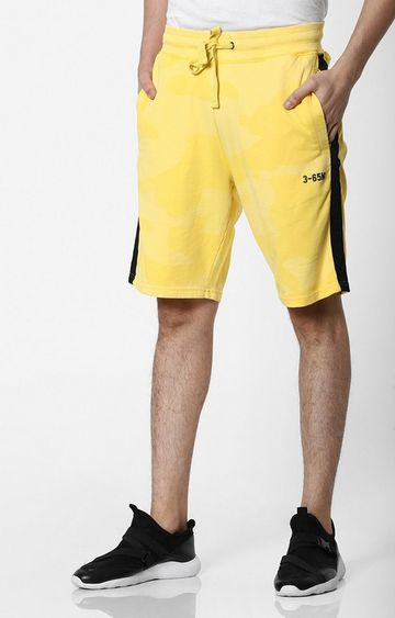 GAS   Whoopie Act Shorts with Contrast Stripes
