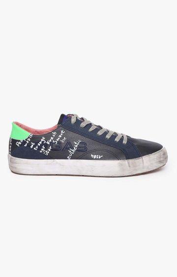 GAS | Navy Alvin LTX Sneakers