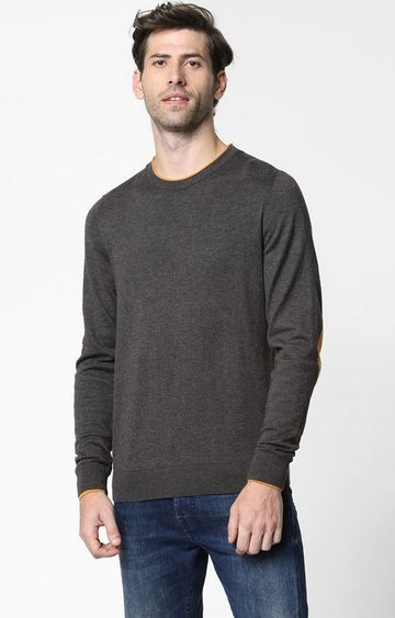 GAS | Janni Crew-Neck Sweatshirt with Elbow Patches