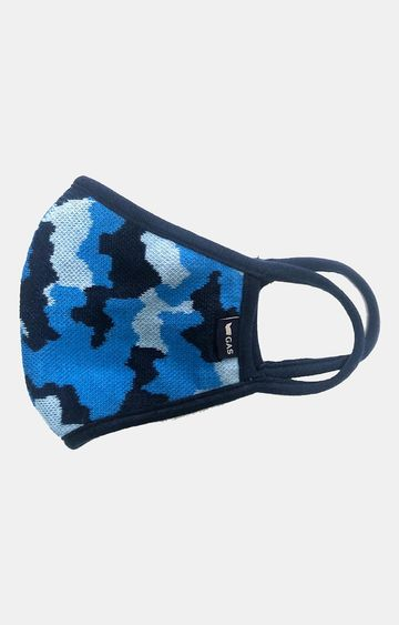 GAS | Blue Camouflage Mask